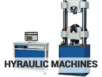 hydraulic lab machines