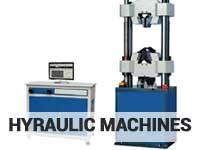 hydraulic lab machines