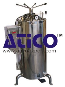 High Pressure Surgical Deluxe Autoclave