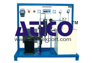 Air Water Heat Pump Test Rig