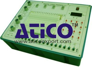 Digital Logic Trainer - Logic Trainer Board