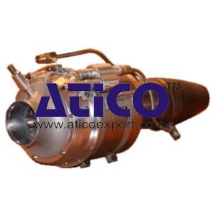 Gas Turbine Turbojet Engine