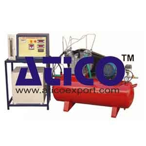 Single Stage Air Compressor Test Rig Manufacturer, Supplier