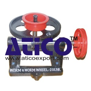 Worm & Worm Wheel Two Gear