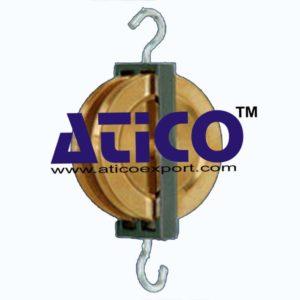 brass-pulleys