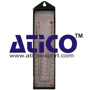 Thermometer Maximum And Minimum Six's Without Shade