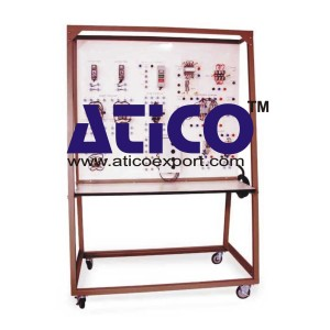 Motor Control Circuits Trainer With Faults