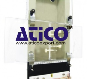 Pitot Static Traverse Plate