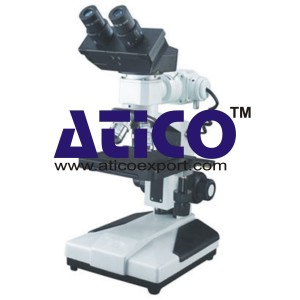 Binocular Upright Metallurgical Microscope