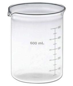 Borosilicate Glass Beaker – 600 ml