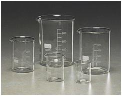 Glassware Calibrated Glass Beakers