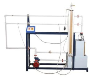 Losses in Pipes Friction Apparatus